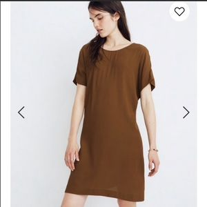 Madewell downtown tie back dress